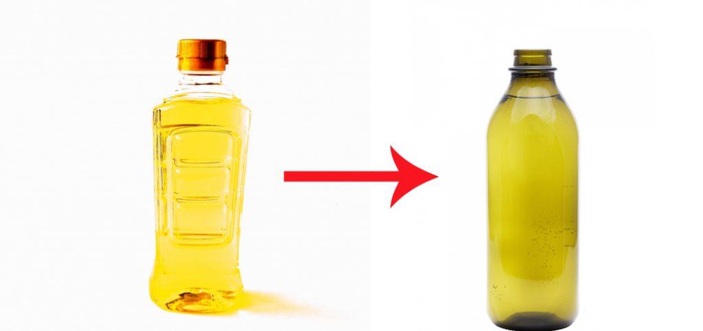 サラダ油とオリーブオイル