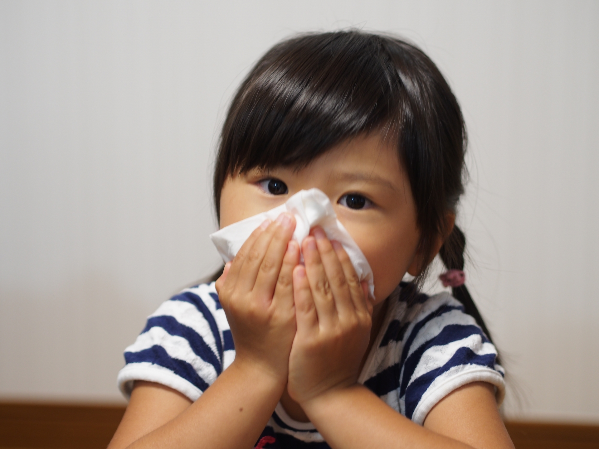 子どものアレルギー性鼻炎